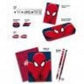Malinha com Material Escolar Spiderman