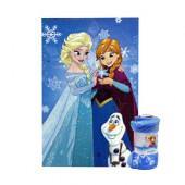 Manta Coralina Frozen Sisters