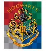 Manta Coralina Harry Potter Escudo