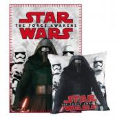 Manta Polar + almofada Star Wars VII