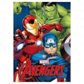 Manta Polar Avengers Vingadores Marvel