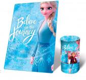 Manta Polar Frozen 2 Elsa