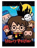Manta Polar Harry Potter Chibi