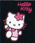 Manta Polar Hello Kitty Black