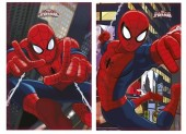 Manta Polar Marvel Spiderman City - Sortido