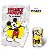 Manta Polar Mickey 90anos
