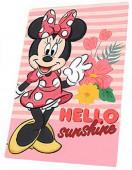 Manta Polar Minnie Hello Sunshine