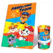 Manta Polar Patrulha Pata Pawsome Team