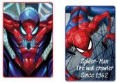 Manta Polar Spiderman 100x150cm Sortido