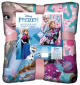 Manta toque seda de Frozen