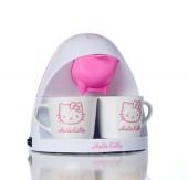 Máquina de Café e Chá real de filtro papel da Hello Kitty