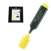 Marcador fluorescente Faber Castell Amarelo 10 unid
