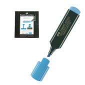 Marcador fluorescente Faber Castell Azul 10 unid
