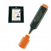 Marcador fluorescente Faber Castell Laranja 10 unid
