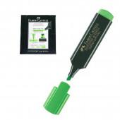 Marcador fluorescente Faber Castell Verde 10 unid