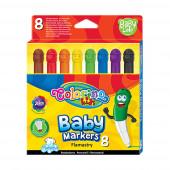 Marcadores Baby 8 Cores Colorino