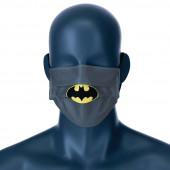 Mascara Comunitária Batman DC Comics Cinza Infantil