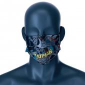 Mascara Comunitária Batman DC Comics Juvenil