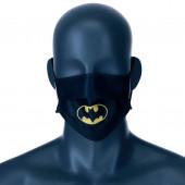 Mascara Comunitária Batman DC Comics Preta Infantil