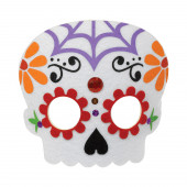 Máscara Dia dos Mortos Halloween