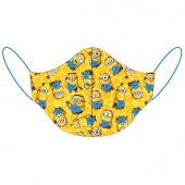 Máscara Reutilizável Criança Minions Amarela