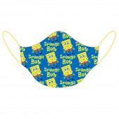 Máscara Reutilizável Criança Sponge Bob