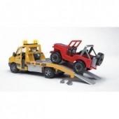 Mb Sprinter reboque c/ Jeep Bruder Profissional