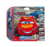 Mega Bloco Actividades Cars 5 em 1