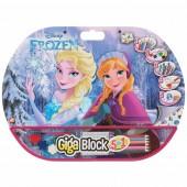 Mega Bloco Actividades Frozen 5 em 1