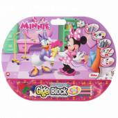 Mega Bloco Actividades Minnie 5 em 1