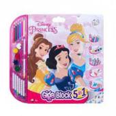 Mega Bloco Actividades Princesas Disney 5 em 1