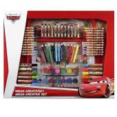 Mega Conjunto de Colorir Cars 129 peças