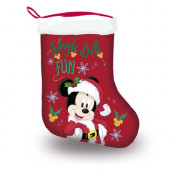 Meia Natal Mickey