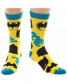 Meias Amarelas Batman DC Comics