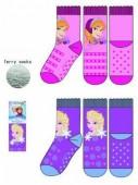 Meias antideslizantes Disney Frozen Elsa e Anna sortidas