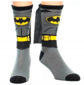 Meias Cinzentas Batman DC Comics