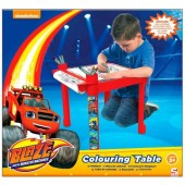 Mesa colorir Blaze and the Monster Machines