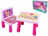 Mesa e Cadeira Shimmer e Shine