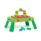 Mesa Portátil Mega Blocks 20 peças
