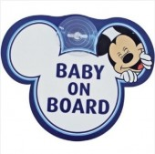 Mickey Sinalizador Auto Baby on Board