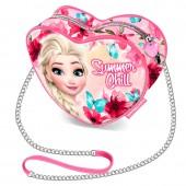Mini-Bolsa Coração Frozen Disney - Summer Chill