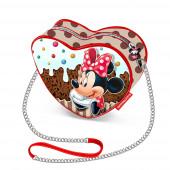 Mini-bolsa coração Minnie Muffin