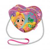 Mini-Bolsa ombro Coração Rapunzel