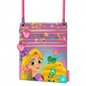 Mini Bolsa Tiracolo vertical Rapunzel Disney