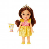 Mini Boneca Bela Chip Princesas Disney 15cm