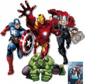 Mini Figuras Decorativas Avengers 30cm