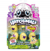 Mini Hatchimals Pack 4 + Bónus Série III