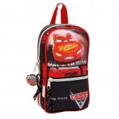Mini-mochila 4 estojos completos Cars Disney
