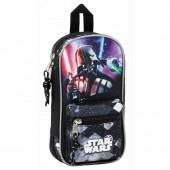 Mini-mochila 4 estojos completos - Star Wars