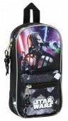 Mini-mochila 4 estojos de Star Wars - Saga